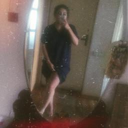 freetoedit blue mirror mirrorselfie selfie picture pictureoftheday photo photography photoftheday girl random summer picsart