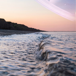 universe quote beach water sea ocean planets freetoedit