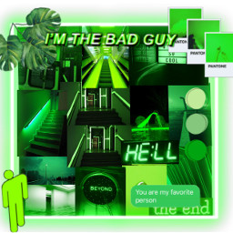 aesthetic tumblr green verde greenbackground greencollage collage colagemverde freetoedit