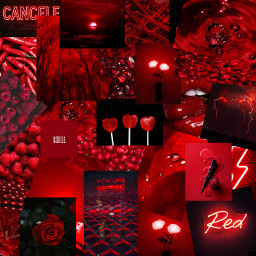 freetoedit collage red balck aesthetic vsco wallaper madebyme unique pictures egirl eboy spicy redcollage collagered collageframeaesthetic cool