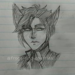 oc art sketch drawing