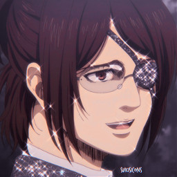 freetoedit icons icon pfp anime animepfp animeicon animeicons hange hangezoe hangezoë attackontitan