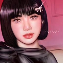 lisa lalisamanoban blackpink kpop kpopart kpopidol 리사 블랙핑크 라리사마노반 freetoedit