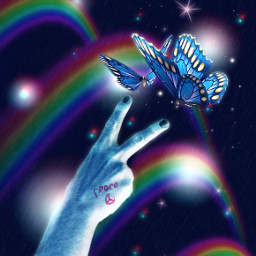 ircpeacesign peacesign replay replayedit picsartreplay mask blur negative neon aesthetic manipulation visualart colorpop rainbow peace butterflies nightsky imagineabrighterreality makeawesome bepositive goodvibes madewithpicsart myedit fantasy surreal freetoedit