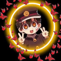 freetoedit hanakokun hanako tbhk pfp anime