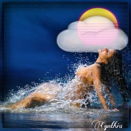 cloud sun swimsuit sunbathing editbyme freetoedit unsplash eccottonclouds2021 cottonclouds2021