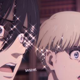 freetoedit icons icon pfp anime animepfp animeicon animeicons mikasa mikasaackerman armin arminarlert attackontitan aot