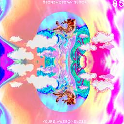 freetoedit yours_awesomeness spaceart astronaut surreal surrealart surrealism fiction hologram holographic holographicdripart spaceedit fantasyart