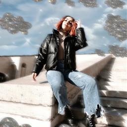 freetoedit nuvens glitter linda