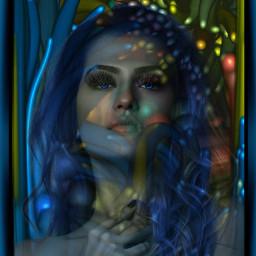 portrait model haircoloreffect. eyecoloreffect. eyelashes editbyme background freetoedit haircoloreffect eyecoloreffect