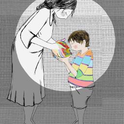fantasia motherandson present emotions