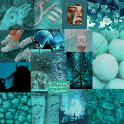 fundo background collage aesthetic tumblr darkteal verdeaguaescuro freetoedit