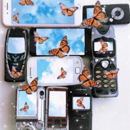 freetoedit butterfly srcvintagephones vintagephones