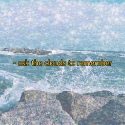 freetoedit ocean clouds