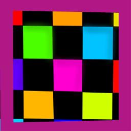 freetoedit disco discofloor discobackground rainbowandblackcheccered checkered