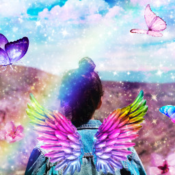 rainbowglitter freetoedit ircladyfrombehind ladyfrombehind