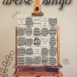 freetoedit idk remix artist bingo imanartist