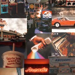 80saesthetic 80s collage asethetic