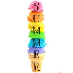 freetoedit summer icecream