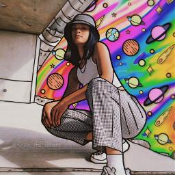 freetoedit planets space colorful colors rainbow drip dripping drippingeffect sky cartoon cartoons cartoonizer outline madewithpicsart picoftheday aesthetic aestheticedit aesthetics papicks heypicsart style girlpower stars draw