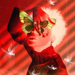 negative shade maskeffect mask aesthetic sticker madewithpicsart myedit visualart creative inspiration manipulation imagineabrighterreality makeawesome smoke fantasy butterflies woman freetoedit