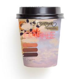 cool coffee freetoedit ircdesignthecup designthecup