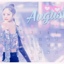 jennie blackpink kpop kimjennie freetoedit srcaugustcalendar2021 augustcalendar2021