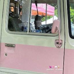 aesthetic asthetic aesthetics asthetics truck car pastels