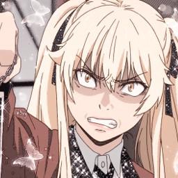 freetoedit 4458 kakegurui marysaotome mary saotome anime manga icon glittericon sparkles glitter animeboy animegirl hanako hisoka aisaka oikawa tanjiro deku emma nami runa waifu husbando screencap notfreetoedit