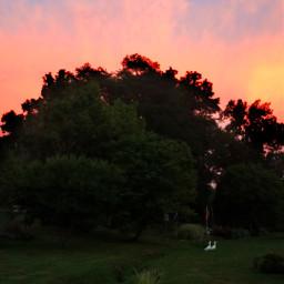 beautiful sunset clouds freetoedit