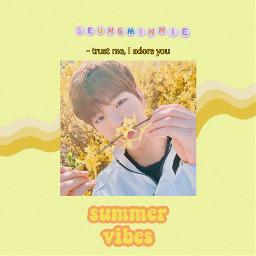 freetoedit seungminnie seungmin skzseungmin skz yellow yellowaesthetic skzyellow flower noise sun