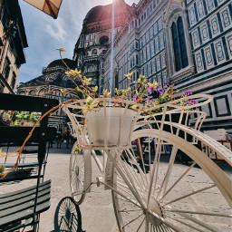 freetoedit streetphotography bycicle travel florence firenze