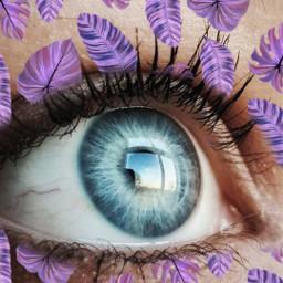 freetoedit eyes srcpurpletropics purpletropics