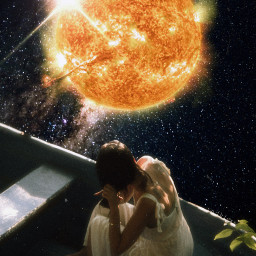 unsplash sun star stars galaxy space universe surreal surrealart freetoedit fccelebrateyourcreativity celebrateyourcreativity
