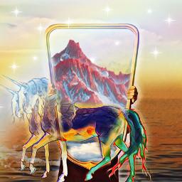 freetoedit firstentry mirror unicorn mountain ircmirrorreflection mirrorreflection