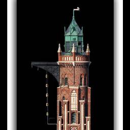 bremerhaven hafen habour germany lighthouse oldhouse northsea küste bay historyarchictecture redstone lights simonloschenturm