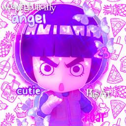 nendoroid icon rocklee lee naruto narutoshippuden anime animeedit edit picsart weepingbutterfly pufupufupufu kawaii cute aesthetic bored interesting