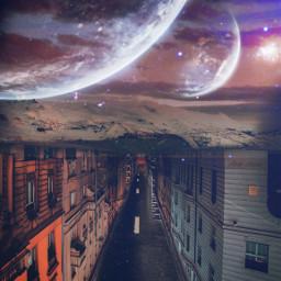 freetoedit pisart madewithpicsart galaxy planet