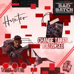 freetoedit hunterbadbatch hunter thebadbatch clonewars starwars
