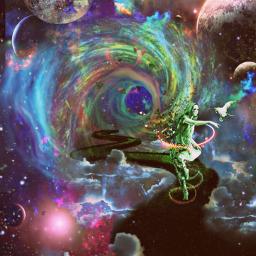 planets solarsystem green greenaesthetic colorful spacejammin girlinspace stars galaxy heypicsart challengeoftheday pirasisproyo freetoedit srcneongalaxycrown neongalaxycrown