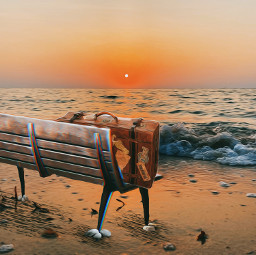freetoedit travel sunset sea