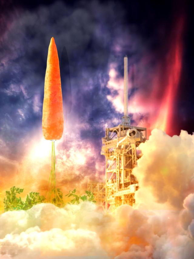#funveggies #editingchallenge #spaceship #rocketship #madewithpicsart @eyesofbrax @hpmycloset