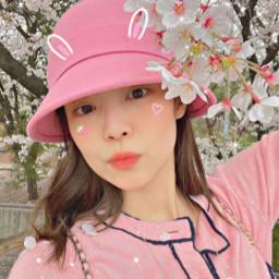 jenniekim blackpinkjennie jennierubyjane pink flower springday blackpink