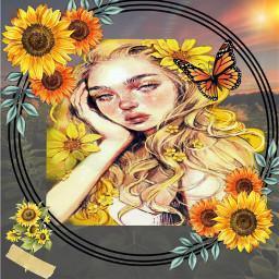 sunflower sun girl 💛 . . . . . . . . . . 💛💛💛💛💛💛💛💛💛💛💛💛💛💛💛 🧡🧡🧡🧡🧡🧡🧡🧡🧡🧡🧡🧡🧡🧡🧡