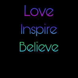 love inspire believe