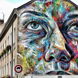 streetphotography colorful art france e-go e