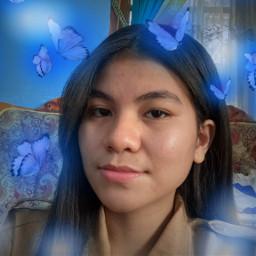 freetoedit butterfly blue