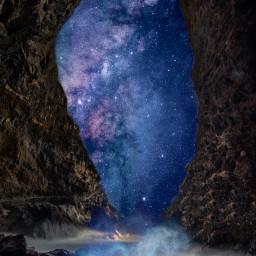 fantasy galaxy freetoedit unsplash