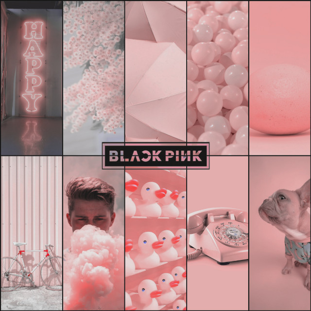 #blackpink #collage was #yellow used the #blackeffect to make it #blackpink