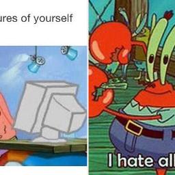 memes meme spongebobsquarepants spongebob spongebobmeme krabs squidward patrick
